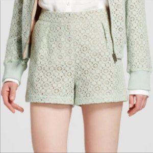 Victoria Beckham for Target Mint Lace Shorts